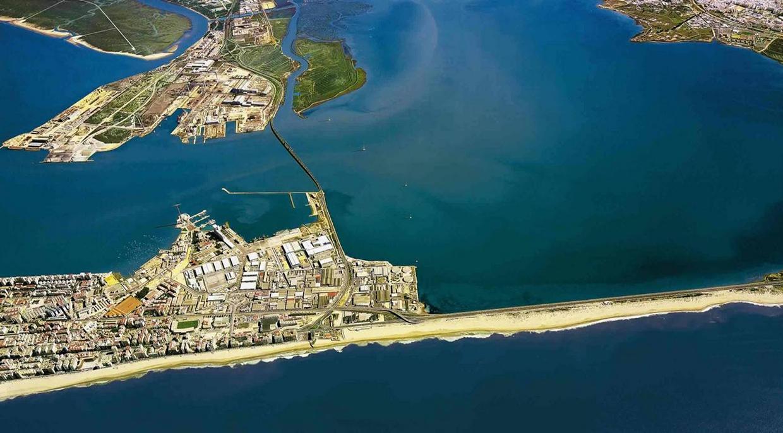 Isla del Trocadero, bahía de Cádiz